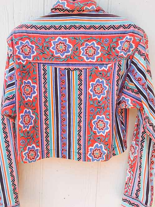 Cropped Paisley S