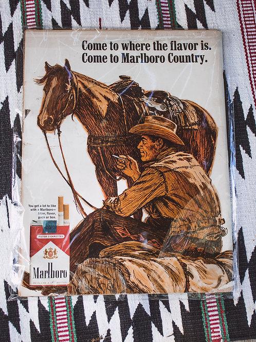 Vintage Marlboro Add