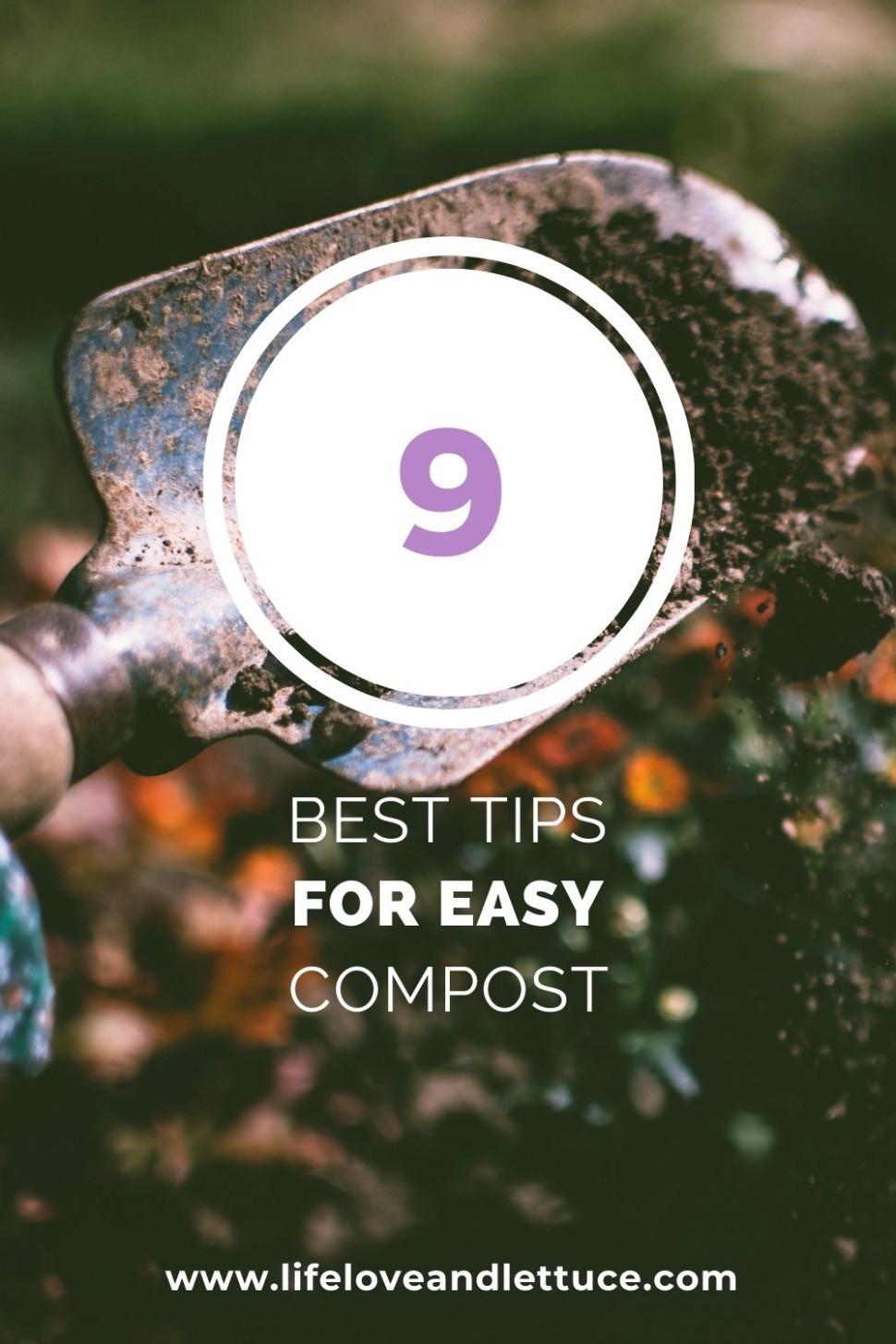 9 best tips for easy composting