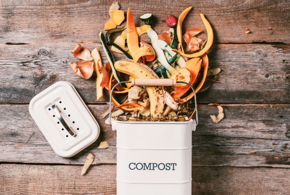 Little compost bin www.lifeloveandlettuce.com