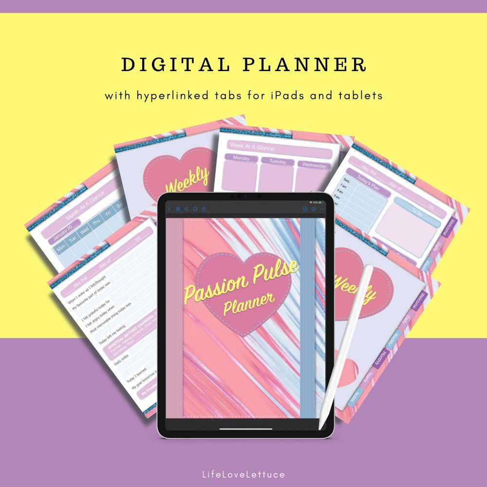 Digital Planner & Gratitue Journal www.lifeloveandlettuce.com