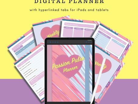 Digital Planner & Gratitude Journal