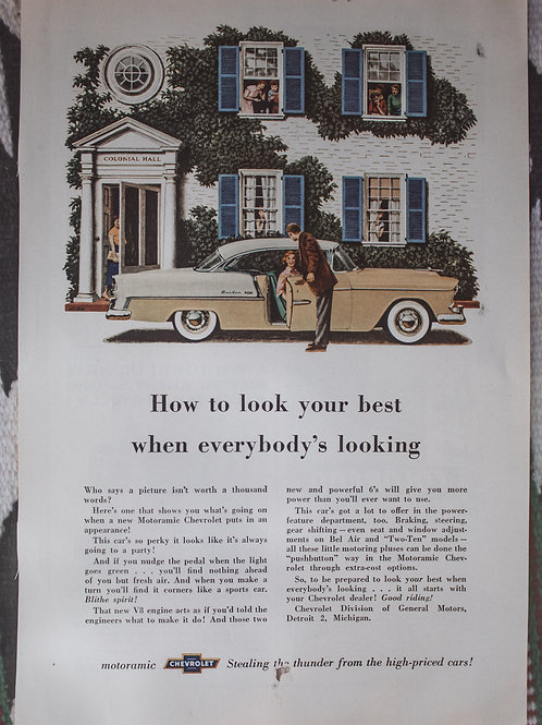 Old Chevy Ad