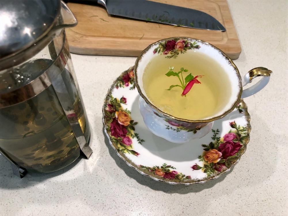 Home made herbal tea www.lifeloveandlettuce.com
