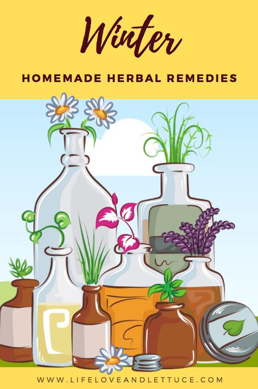 lifeloveandlettuce.com winter homemade herbal remedies