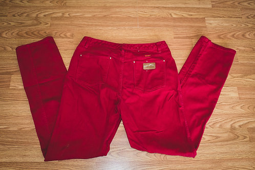 Red Wrangler Jeans/ Size 12