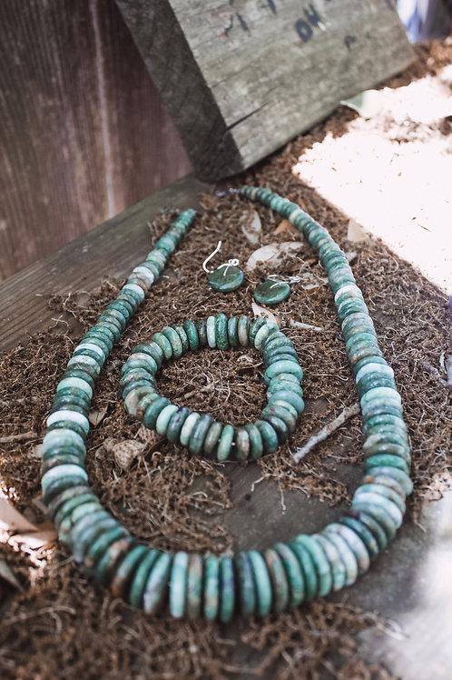 Turquoise Stone 3 Piece Set