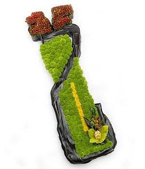 Green Orchid Golf Bag Tribute