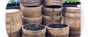 Halved Whiskey Barrel
