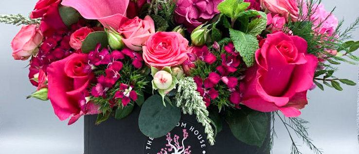 Hatbox Blooms - Luxury Collection