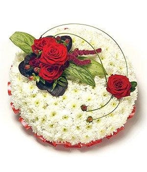 Red & White Posy Colour Options Available