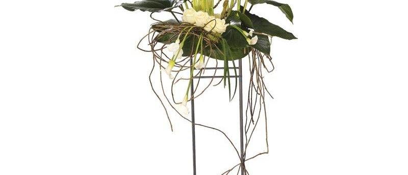 White Calla Lily Arrangement