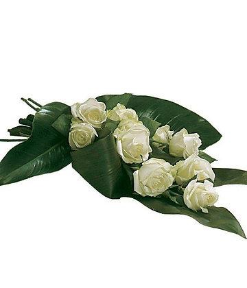 White Rose Tied Sheaf