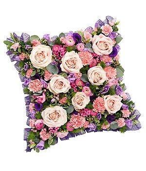 Pink & Mauve Cushion