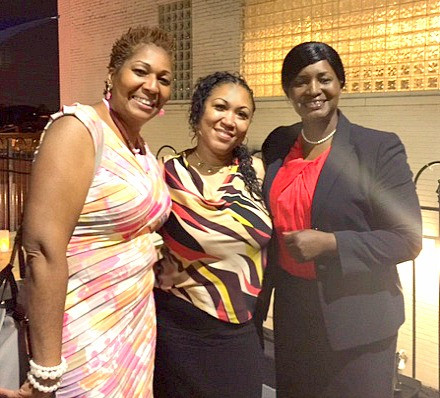 S.H.O.E. Girl founder & CEO, Marian Currie and Joseph Management Consulting CEO, Nebra Singleton.