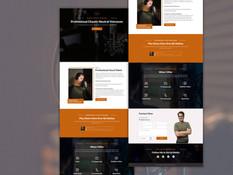 Voice Over Website Design