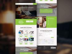 Air Conditioner Contractor Website Design