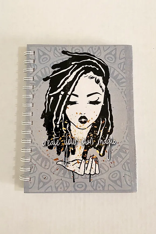 Create Your Own Magic Girl Notebook