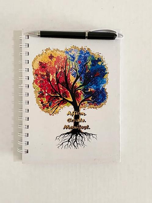 Affirm. Create. Manifest. Notebook
