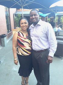Caldwell Consulting Group CEO, Samuel Caldwell, supporting our event at Ivy City Smokehouse in June 2016.