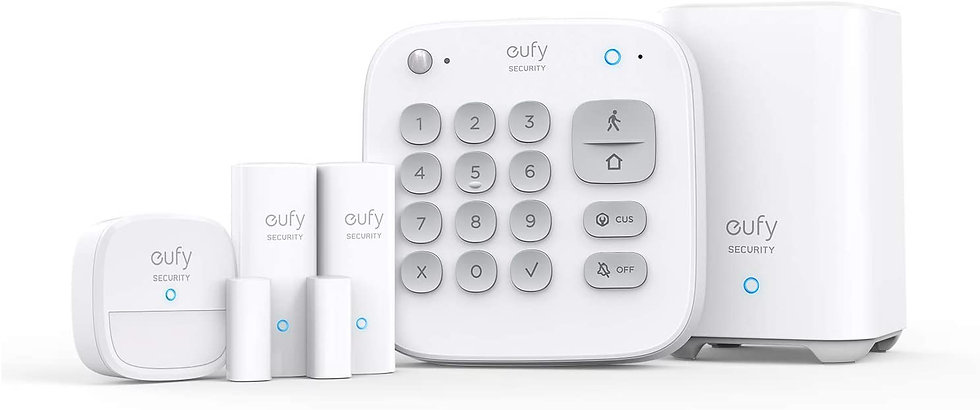 Eufy Eufy security Alarm 5 piece kitsWhite