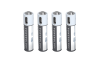 Powerology USB Rechargeable Lithium-ion Battery AAA ( 4pcs/pack ) 450mAh / 675mW