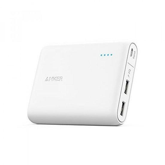 Anker 10400 mAh PowerCore with Power IQ (White)