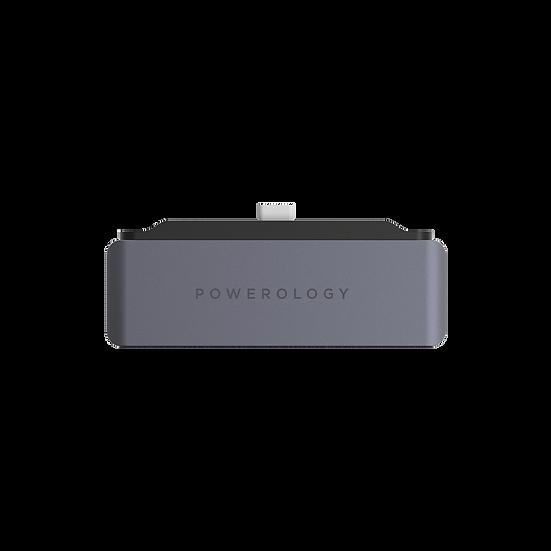 Powerology 4 in 1 USB-C Hub with HDMI USB Aux