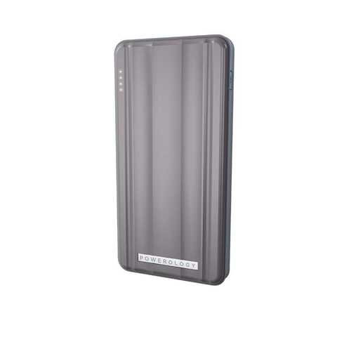 Powerology - Slim PD Power Bank 10000mAh 18W - Gray