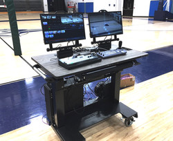 Sit-Stand Desk Auraria Tech Sports production