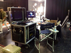 Colorwave Bigfoot on set