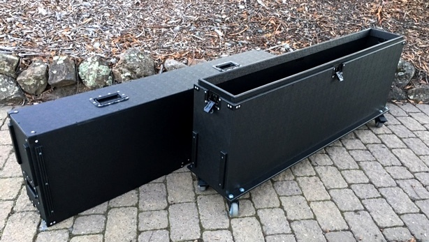 65 inch monitor case open