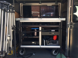 Buntefarben Bigfoot installed in Sprinter Van