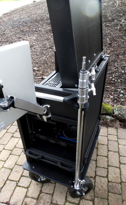 Bigfoot Cart with optional C-stand mount -