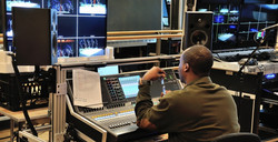 Bigfoot CL-5 console catrt at NJPAC installed 2