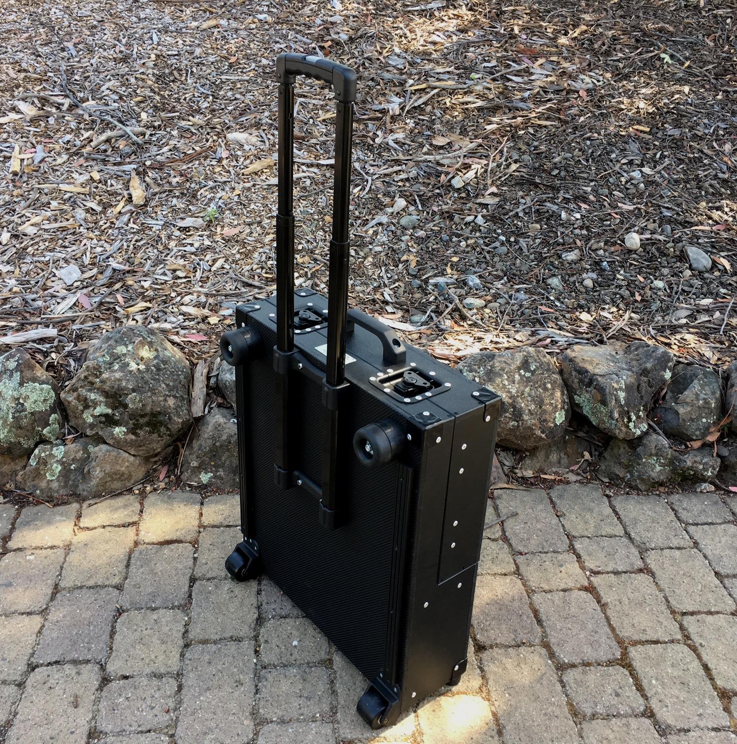 Bigfoot Micro Briefcase closed 3 lg