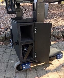 Bigfoot  RollingTech Desk Custom CP storage -