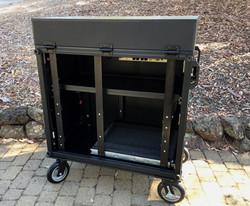Side Operator 38D  removable rack side panel