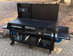 Comcast-Bigfoot Triplerack cart open
