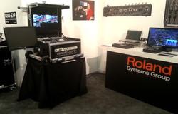 Roland Booth at Infocomm -Bigfoot Versa Flypak VR-HD50