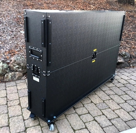65 inch monitor case closed