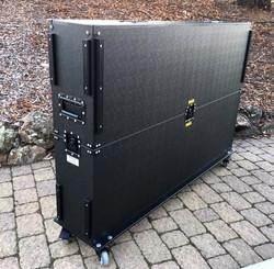 65 inch monitor case closed