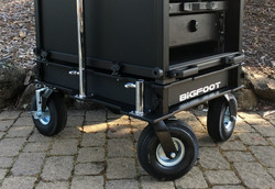 Bigfoot Rackbase with 10inch full pnuematic wheels