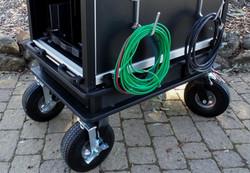 10 inch Flat Free Wheels