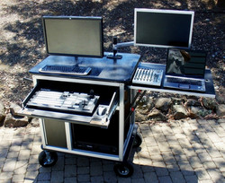 Bigfoot Tricaster RackPlus' System with large KB drawer, standard top