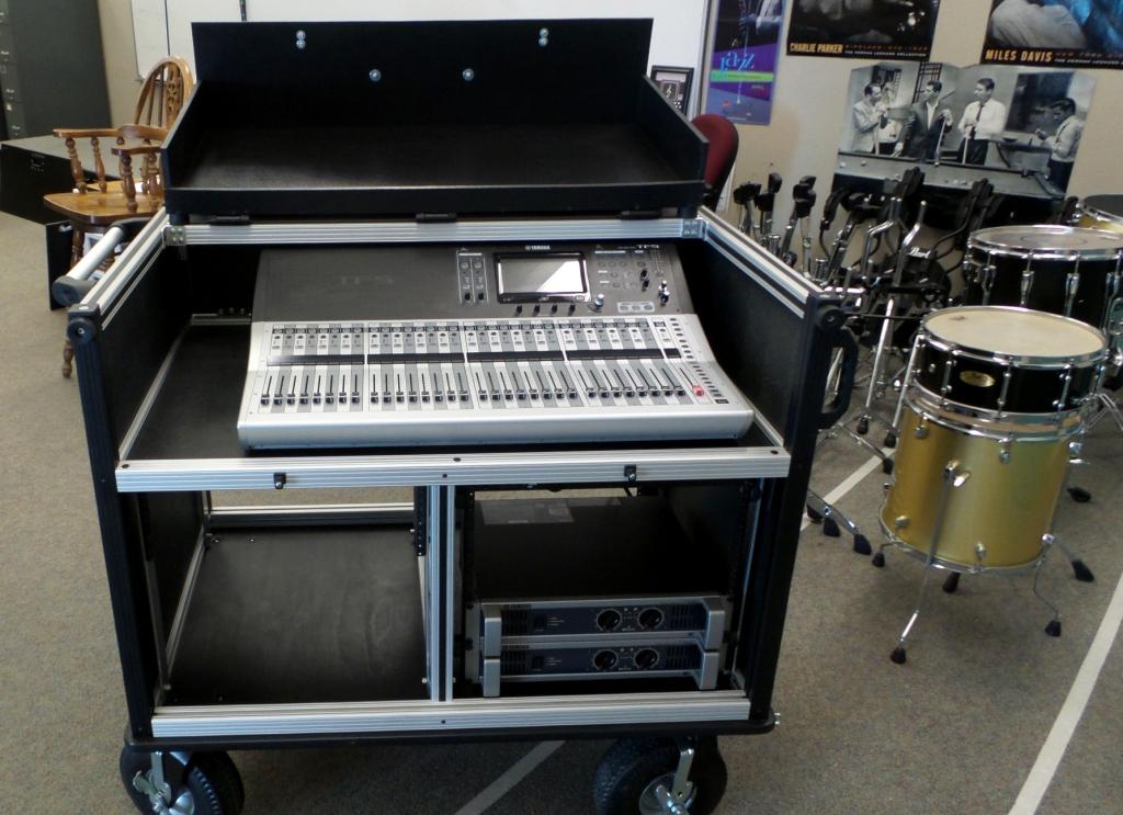 Bigfoot TF-5 System mixer shelf