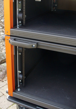 Elastomeric Absorbers Shock Rack