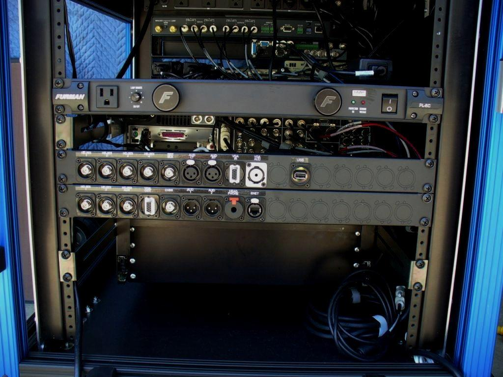 Bigfoot- integrated rear connector panels-Tricaster