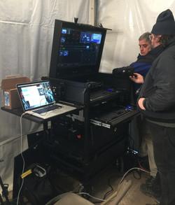 Bigfoot Side Operator Split-apart On-set 3