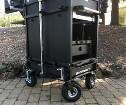 Bigfoot Cart 2RU base section-10 inch wheels
